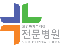 mark of Specialty Hospital of Korea for Joint Care